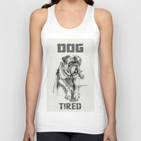 coco Tank Tops featuring Coco by michael jon