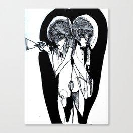 NO Regular Play Poster Canvas Print