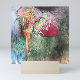 Plight of the Honey Bee Mini Art Print