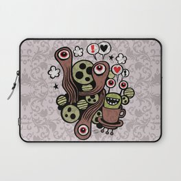 COSMIC LOVE ZONE Laptop Sleeve