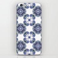 megan lara iPhone & iPod Skins featuring Lara by Sharandra