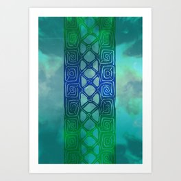 Celtic Band Art Print