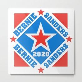 Bernie Sanders 2020 Vote for President Metal Print