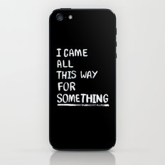 All This Way iPhone & iPod Skin