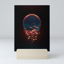 Shattered Moon Mini Art Print