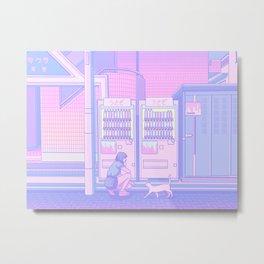 Vending Machines Metal Print