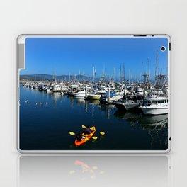 Pillar Piont Harbor at Half Moon Bay Laptop & iPad Skin