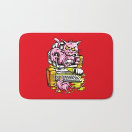 Cat and Mouse Bath Mat