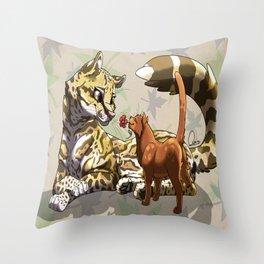 Ozelove Throw Pillow