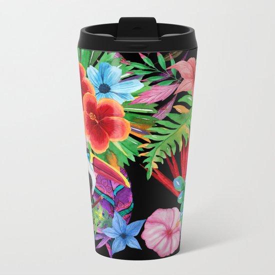hawaiian beauty Metal Travel Mug