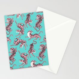 Bright Tigers Stationery Cards