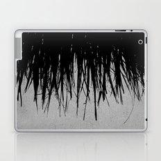 Concrete Fringe Black Laptop & iPad Skin