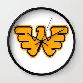 Best Waylon Jennings logo Wall Clock