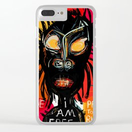 Slave no more Clear iPhone Case