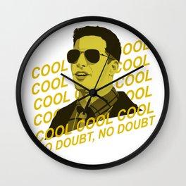 Cool Cool Cool Wall Clock