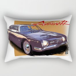 1963 Avanti Rectangular Pillow