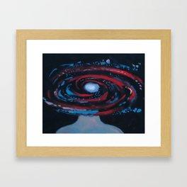 Galaxy Portrait 1 Framed Art Print