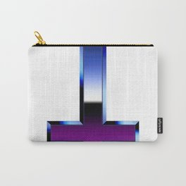 80S chrome inverted c Carry-All Pouch