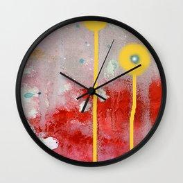 lune de miel Wall Clock