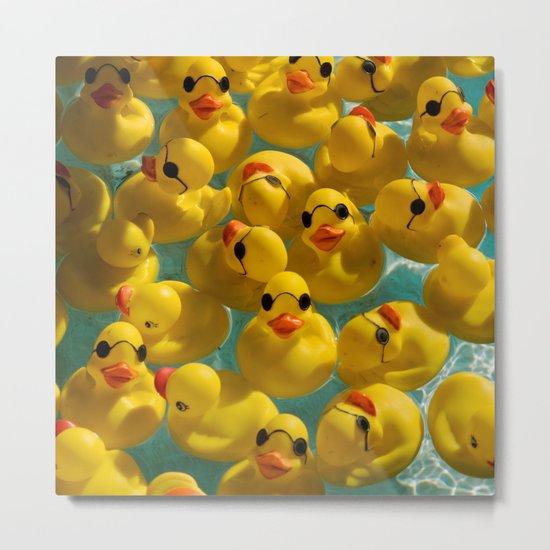 Quack Metal Print