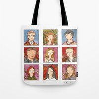 buffy Tote Bags featuring Buffy by Steven Learmonth