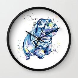 Hippo - Grace Wall Clock