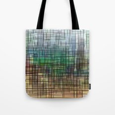 gridscape Tote Bag