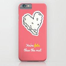 Cheesy Hearts - Feta Slim Case iPhone 6s
