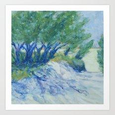 Point Betsie Trees Art Print