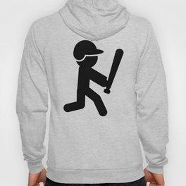 Baseball Stickman Hoody