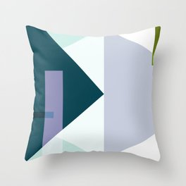 The point of no return Throw Pillow