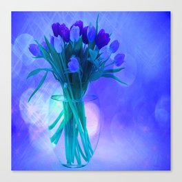 A Blue Bloom for Spring Canvas Print