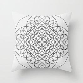 Circle Splendor 6 Throw Pillow