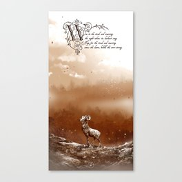 Woe and Hope Canvas Print