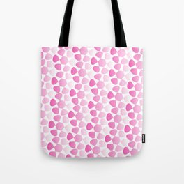 Fading Pink Flowers Tote Bag