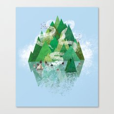 Mysterious Island Canvas Print