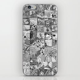 Doodling Together #2 iPhone Skin