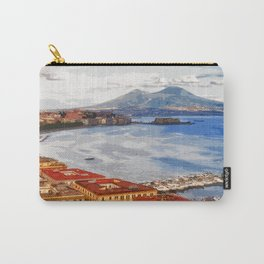 Italy. The Bay of Napoli Carry-All Pouch