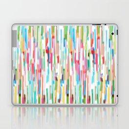vertical brush strokes  Laptop & iPad Skin