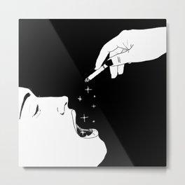 Let's celebrate / Illustration Metal Print