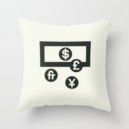 Money Throw Pillow