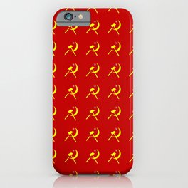 Hammer and sickle 2 - Faucille et marteau-серп и молот iPhone Case