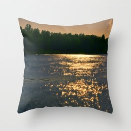 Morning Sparkle Throw Pillow