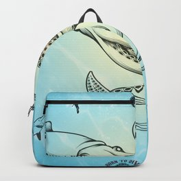 giant squid Backpack
