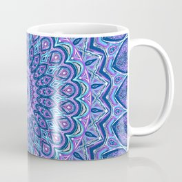 Purple Passion - Mandala Art Coffee Mug