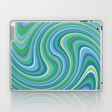 Twist and Shout-Oceania colorway Laptop & iPad Skin