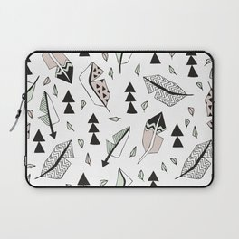 Cupid indian summer feathers and arrows Laptop Sleeve