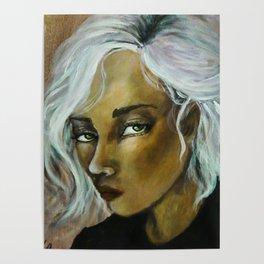 Jinx (Girl Portrait) Poster