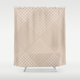 Mesh 9 Sand Shower Curtain