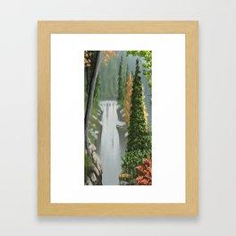 Waterfall 8 Framed Art Print